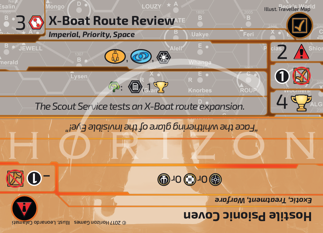 X-Boat Route Review