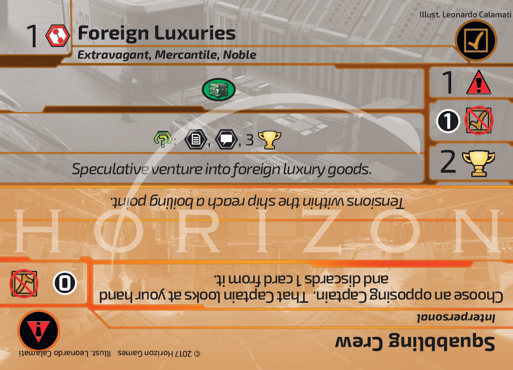 Foreign Luxuries